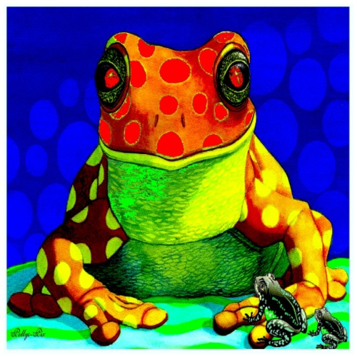 Froggy Art Deco