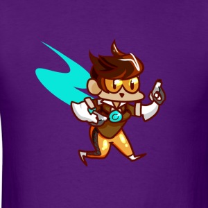 Tracer Chibi - Men's T-Shirt