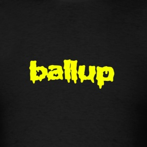 Ball Up T-Shirt Yellow - Men's T-Shirt