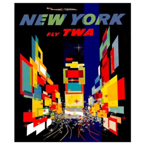 TWA fly to New York