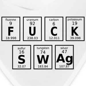 Periodic Table Of Fuck Swag Caps - Bandana