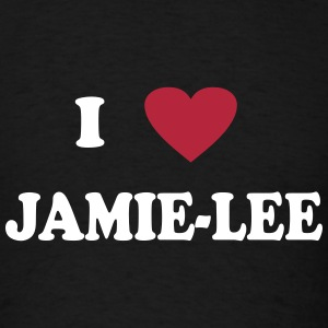 I heart Jamie-Lee T-Shirts - Men's T-Shirt