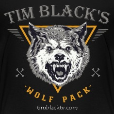 Tim Black's Wolf Pack Kids Tee
