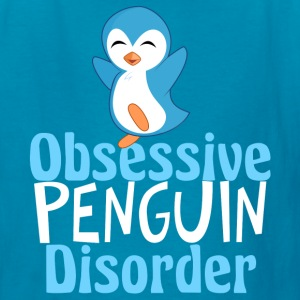 Cute Blue Penguin - Kids' T-Shirt