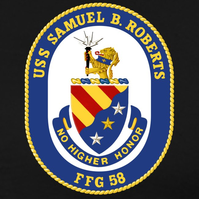 USS SAMUEL B ROBERTS FINAL CRUISE SHIRT
