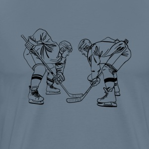 Eishockey face off T-Shirts - Men's Premium T-Shirt