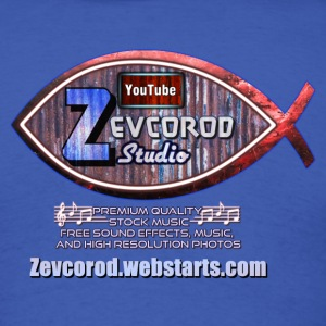 Zevcorod Studio Logo Red, white, and blue - Men's T-Shirt