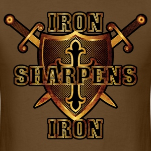 Iron Sharpens Iron - Men's T-Shirt