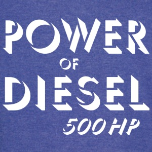Power of diesel T-Shirts - Vintage Sport T-Shirt