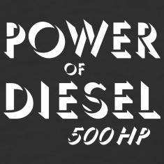 Power of diesel T-Shirts
