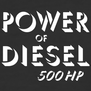 Power of diesel T-Shirts - Baseball T-Shirt