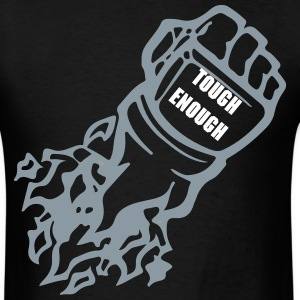 Tough Enough Fist logo - Men's T-Shirt