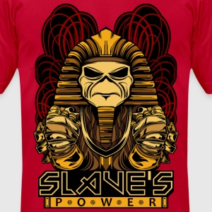 POWERSLAVE  - Men's T-Shirt by American Apparel