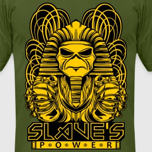 POWERSLAVE MONOCHROME - Men's T-Shirt by American Apparel