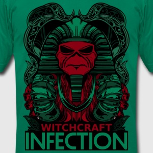 WITCHCRAFT INFECTION - Men's T-Shirt by American Apparel