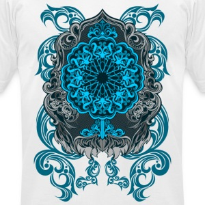 MIRROR ETNIC ARABIAN STYLE - Men's T-Shirt by American Apparel