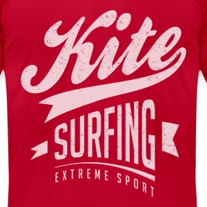 Kitesurfing College - Men's T-Shirt by American Apparel