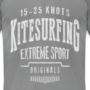 Kitesurfing 15-35 knots - Men's T-Shirt by American Apparel