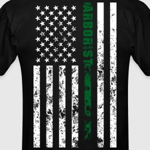 American Arboist Flag - Men's T-Shirt