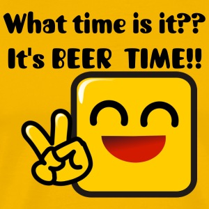 IT'S BEER TIME! - Men's Premium T-Shirt