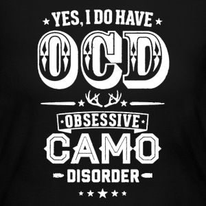 Obsessive Camo Disorder - Women's Long Sleeve Jersey T-Shirt