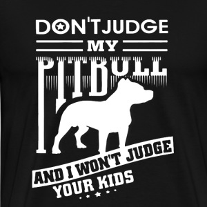 Pitbull Mom Shirt - Men's Premium T-Shirt