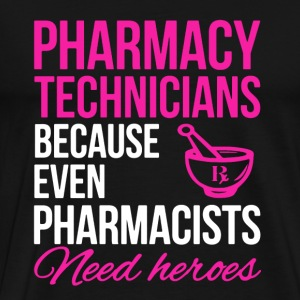 Pharmacy Technician Hero - Men's Premium T-Shirt