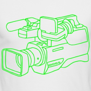 video camera - Men's Long Sleeve T-Shirt by Next Level