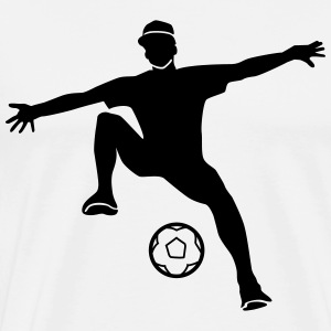 freestyle soccer T-Shirts - Men's Premium T-Shirt