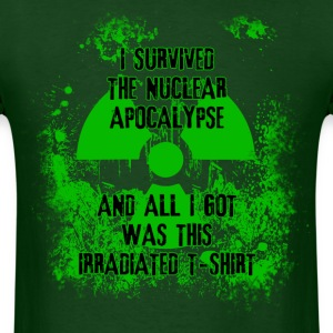 I Survived the Nuclear Apocalypse T-Shirts - Men's T-Shirt