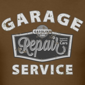 Grunge Garage - Men's T-Shirt