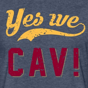 Yes We CAV! T-Shirt - Fitted Cotton/Poly T-Shirt by Next Level