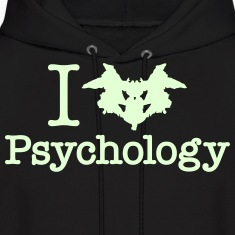 I Heart (Rorschach Inkblot) Psychology Hoodies
