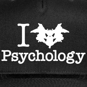 I Heart (Rorschach Inkblot) Psychology Sportswear - Snap-back Baseball Cap