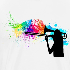Trombone Paint - Men's Premium T-Shirt