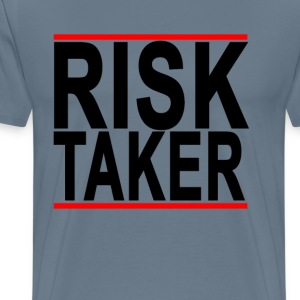 the_risk_taker - Men's Premium T-Shirt