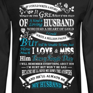 My Husband - Men's Long Sleeve T-Shirt