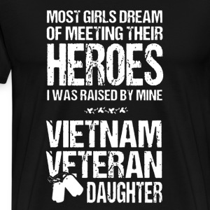 Vietnam Veteran Daughter - Men's Premium T-Shirt