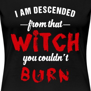 Witches Descendants shirt - Women's Premium T-Shirt
