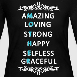 Mother's Day Shirt - Women's Long Sleeve Jersey T-Shirt