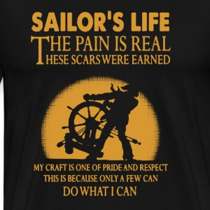 Sailor's Life shirt - Men's Premium T-Shirt