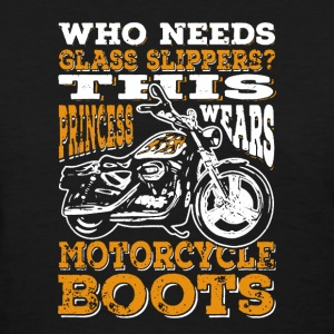 Motorcycle Boots - Women's T-Shirt