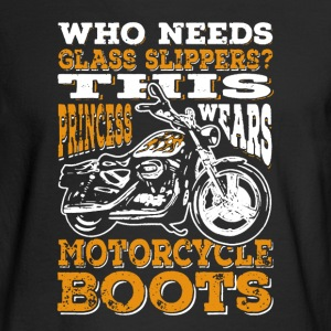Motorcycle Boots - Men's Long Sleeve T-Shirt