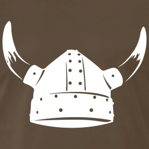Viking helmet Shirt - Men's Premium T-Shirt