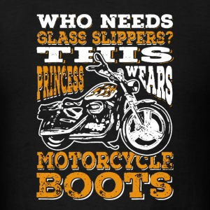 Motorcycle Boots - Men's T-Shirt