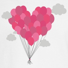 Balloons arranged as heart Long Sleeve Shirts