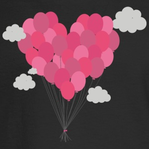 Balloons arranged as heart Long Sleeve Shirts - Men's Long Sleeve T-Shirt