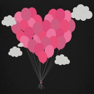 Balloons arranged as heart Kids' Shirts - Kids' Premium T-Shirt