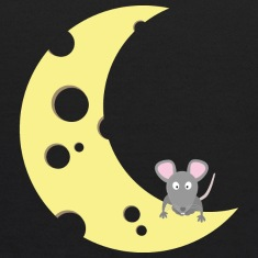 mouse on the cheese moon Sweatshirts