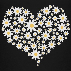 Heart of white flowers Baby & Toddler Shirts - Toddler Premium T-Shirt